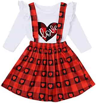 NWT Baby Girls Old Navy Size 3 3t Red Heart Ruffle Top Shirt Valentines Day