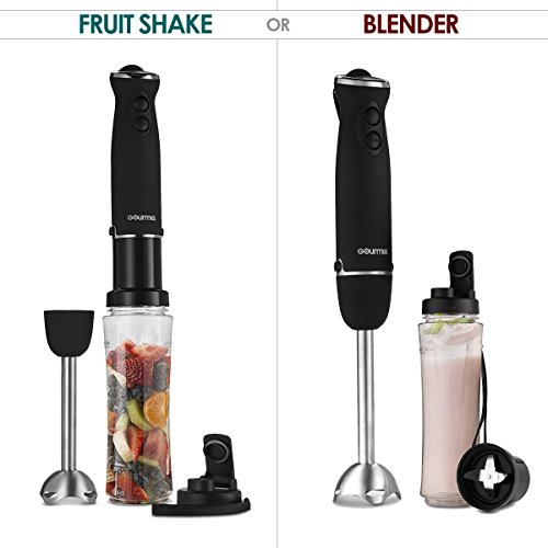 Gourmia Handheld Immersion Blender & Personal Smoothie Maker Only $17.99