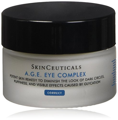 Cream 0.5 Moisturizing Ounce (SkinCeuticals A.G.E. Eye Complex 0.5 oz Moisturizing Anti Aging Eye Cream with Vitamin E Helps Reduces Dark Circles, Puffiness and Crow's Feet)
