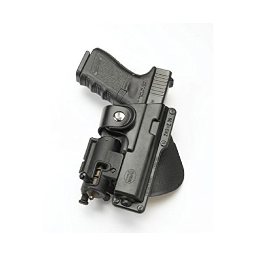 Fobus Tactical Speed Holster Paddle Left Hand GLT19LH Glock 19,23,32 / S&W 99 Compact/ M&P Compact holds Handgun with Laser or Light (Best Handguns For Lefties)