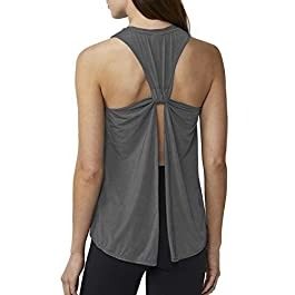 Sanutch Workout Tanks Gym Tops Muscle Shirts Racerback Yoga Tank Tops for Women