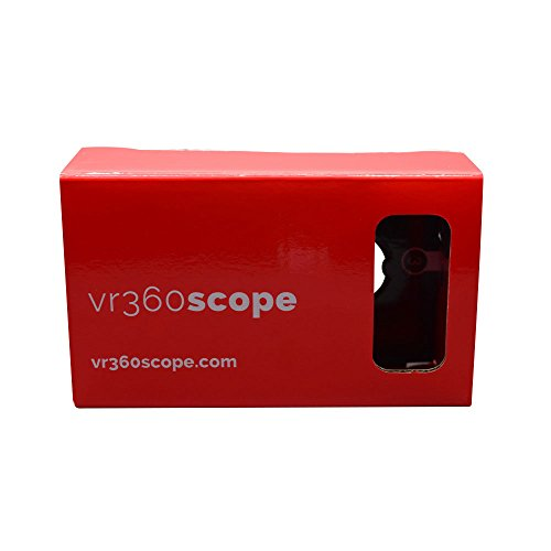 Vr360 Scope Google Cardboard Kit   3D Virtual Reality For Android   Apple With Qr Codes   1 8 Inch  45Mm  Hd Lenses