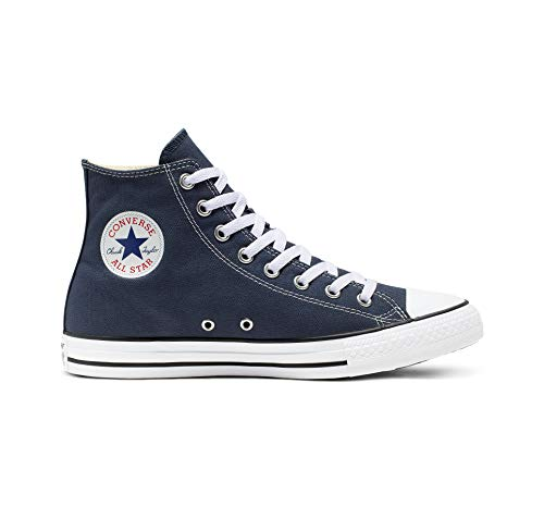 Converse Mens Chuck Taylor All Star High Top, 12 D(M) US, Navy (Hi Top Tennis Shoes)