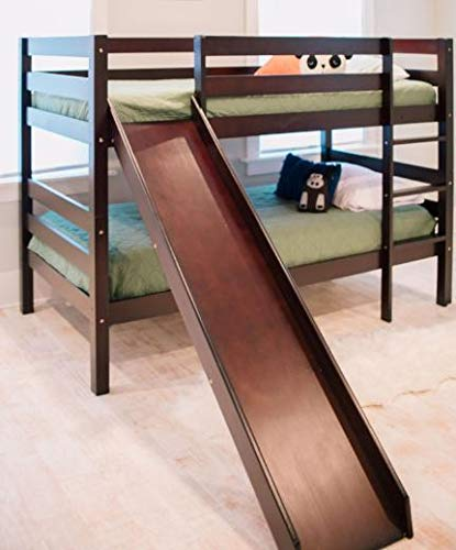 Zoomie Kids Aisling Castle Twin Low Loft Bed With Slide And Tent
