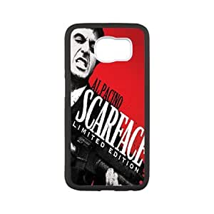 Scarface Samsung Galaxy S6 Cell Phone Case White H7897733