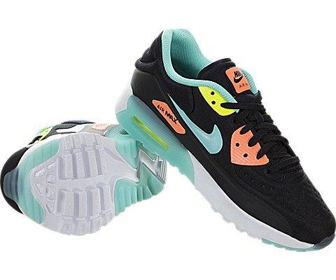 Nike - Zapatillas de running de Tela para mujer 38,5 EU black hyper turquoise bright mango 001