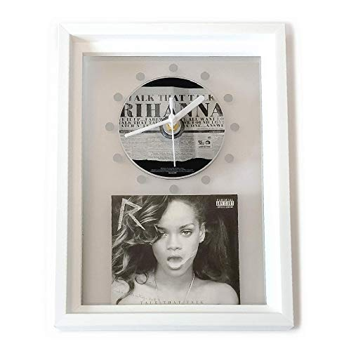 RIHANNA - Talk That Talk: FRAMED CD ART CLOCK/Exclusive Design