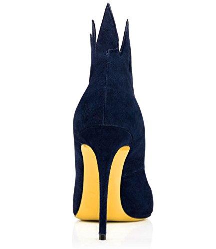 42 Talons Formal Chaussures Soirée Stiletto Été en Business Talon B Printemps Cuir Robe Chaussures Soirée Work Taille Mariage XUE Pointues Couleur pour Femmes B qw0xBAaz