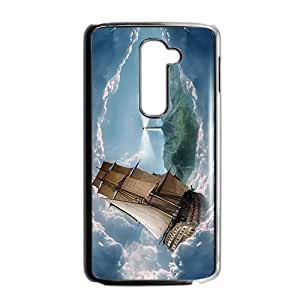 Happy Creative Clouds Boat Custom Protective Hard Phone Cae For LG G2