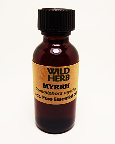 Bulk Myrrh Essential Oil Organic (8 oz) by Wild Herb Soap Co