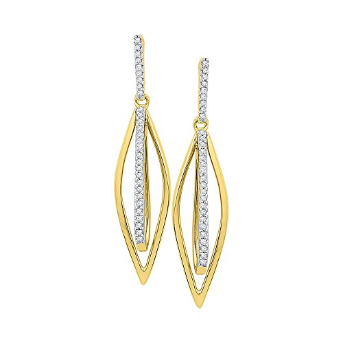 Diamond Stick Earrings - 2