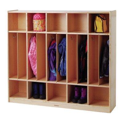 Premium Maple Locker Unit Classroom Cabinet