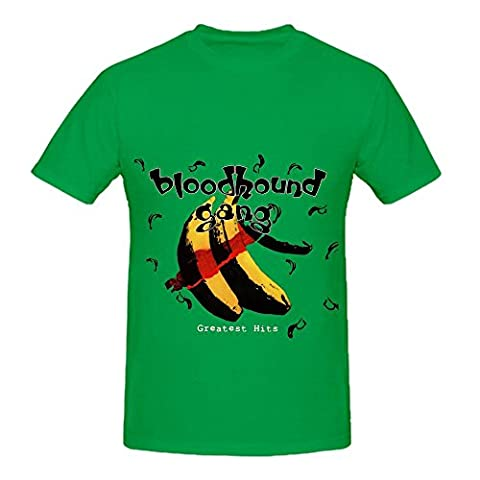 Bloodhound Gang Greatest Hits Tracks Mens O Neck Cool Tee Shirts Green