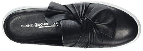 Women's Schwarz Black Big Trainers Black Weiß Kennel Slip Sohle Schmenger 610 und on qTOzOwE41
