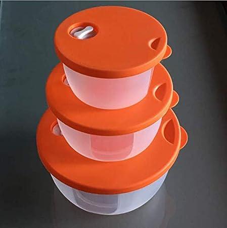AmZooJ - Vajilla para microondas (1 L, plástico, sin BPA), Color ...