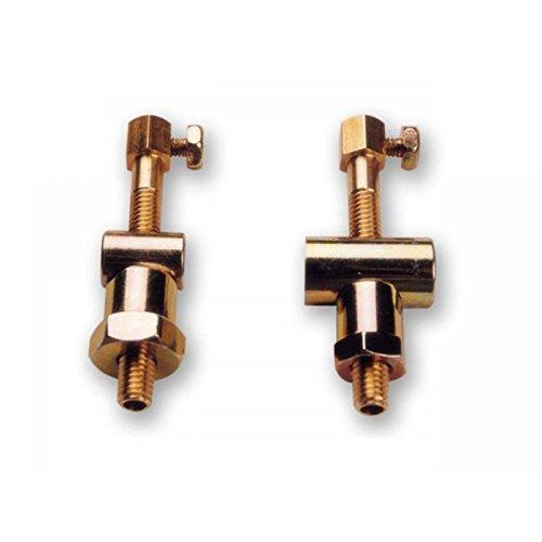 Tensor de cable de freno con rodillo corto y paso de cable.