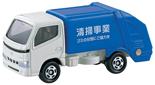 Takara Tomy Tomica #045 Toyota Dyna Refuse (Toyota Mini Trucks)