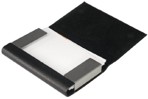 Black Visol Holder Business V650B Products Marlin Products Visol Card Leather qTwARWXa