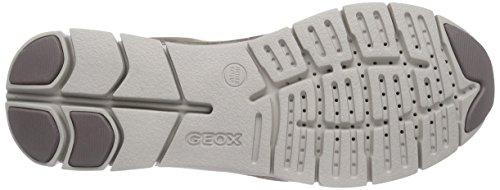 Geox D Sukie a, Zapatillas para Mujer Beige (Smoke Grey C9006)