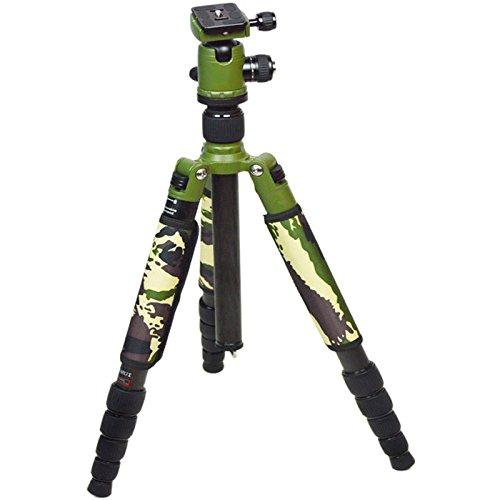 DSLRカメラ三脚カーボンファイバー軽量1.5kgキャリーバッグ付きカメラ付き携帯用三脚スタンド B07CV6B7L8