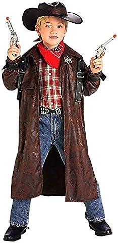 Forum Novelties Desperado Cowboy Child Costume, Medium (Wild West Accessories)