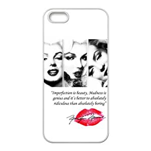 marilyn monroe quotes Phone high quality Case for iPhone 5S Case