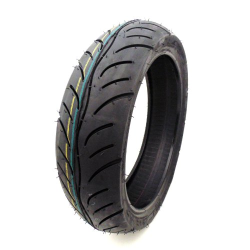 """100/60-12 Tubeless Scooter Tire Front/Rear Street Tread 12"""" Rim Fresh Rubber supplier"""