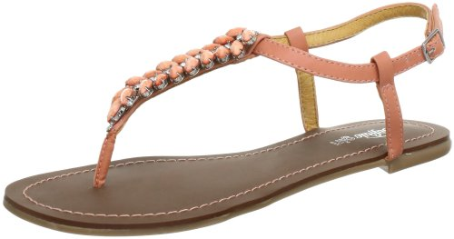 Girl Da 0690 01 Donna Arancione 312 peach Leather Pu Sandali orange Buffalo dqBAYxB