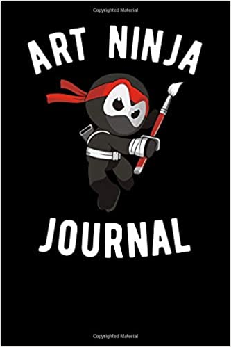 Art Ninja Journal: Punch Clock Publishing: 9781099528002 ...