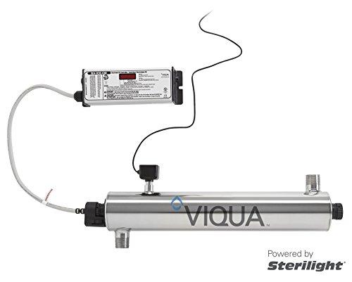 Viqua VH410M UV Water Purification System, 18GPM 120VAC (NEMA 5-15P) MONITORED by Viqua