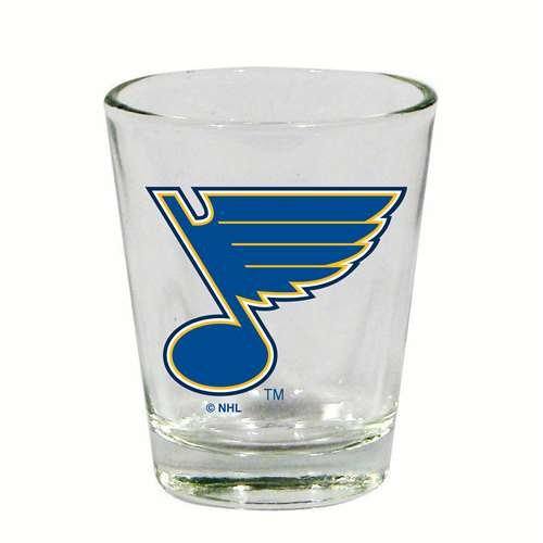The Memory Company St. Louis Blues 2 oz Collector Shot - With Glasses Louis