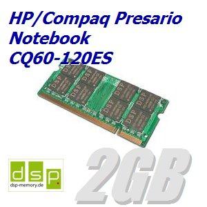 Memoria RAM de 2 GB para ordenador portátil HP/Compaq Presario CQ60 - 120ES: Amazon.es: Informática