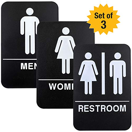Top 10 best restroom door signs for business