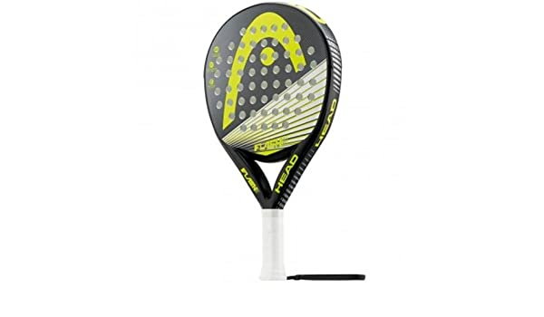 Head Flash with - Pala de pádel, Color Negro/Gris/Amarillo, Talla ...