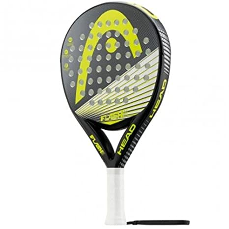 Head Flash with - Pala de pádel, Color Negro/Gris/Amarillo, Talla 38 mm: Amazon.es: Deportes y aire libre