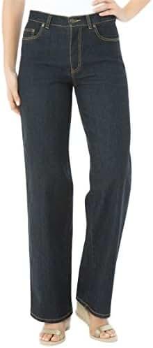 Women's Plus Size Wide Leg Stretch Jean
