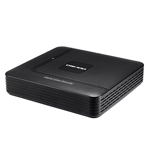 Digital Video Recorder, OWSOO 8CH 1080P Hybrid NVR AHD TVI CVI DVR 5 in 1 P2P Cloud Network Onvif Video Recorder Support APP Control, Motion Detection