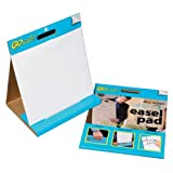 """GoWrite! Dry Erase Non Adhesive Table Top Easel Pad, 16""""X15"""", White, 10 Sheets by GoWrite!"""