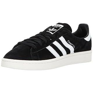 adidas Originals Men's Campus Sneakers, Black Chalk White, ((8 M US)