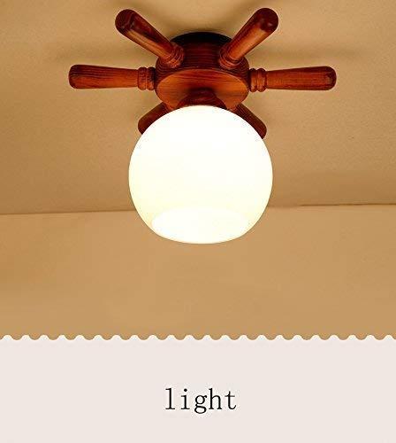 Yaomeimei 天井ランプ、ホームリビングルーム天井ランプ、工業用レトロスタイル研究書の受け取り寝室部屋バルコニーウォークアメリカンランプアイアンライブロフト廊下目に見えない(スタイル:B-2タイプのランプ)、 (Color : Eyelet (Without Light Source))  Eyelet (Without Light Source) B07SWYK67H