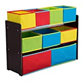 Delta Children Deluxe Multi-Bin Toy Organizer with