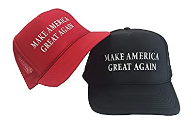 "P&B Campaign Adjustable Unisex Hat Cap ""MAKE AMERICA GREAT AGAIN! DONALD TRUMP'16"
