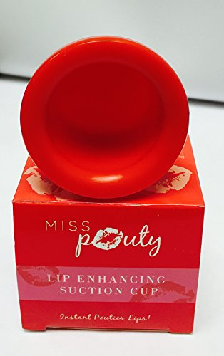 Miss Pouty Lip Plumping Enhancer Pumper Pump Up Your Lips Plump Pout Fuller Suction Device - LARGE by miss pouty