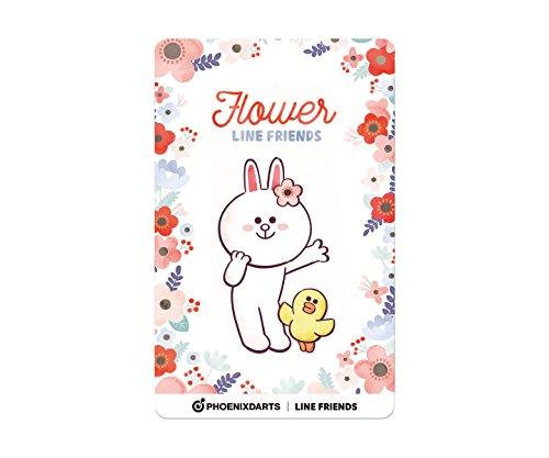 フェニックスクラブカード フェニカ LINE FRIENDS フラワー FLOWER