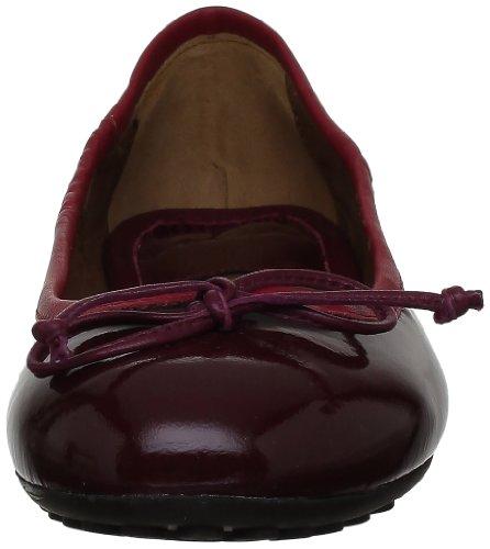 Voile Blanche Samira01 200649101 Damen Ballerinas Violett (Bordeaux)