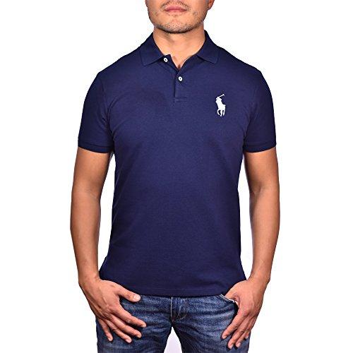 Polo Ralph Lauren Men's Pony Logo Polo Shirt MED FIT (M, French - Ralp Men Lauren