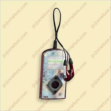 Hallmark Keepsake Ornament – MP3 Player Personal Audio 2006, Magic Sound and Light ()