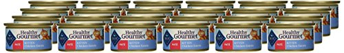 BLUE-Healthy-Gourmet-Kitten-Pate-Chicken-Wet-Cat-Food-3-oz-Pack-of-24
