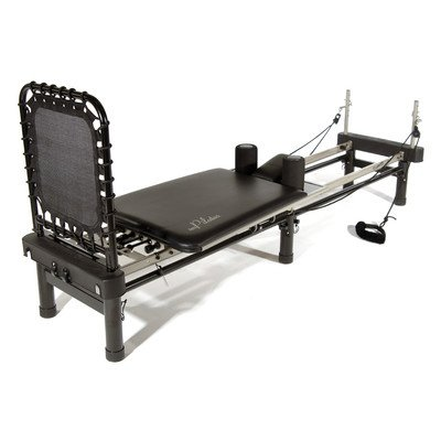 Stamina AeroPilates 700 Premier Reformer with Stand, Cardio Rebounder, Neck Pillow and DVDs from Stamina