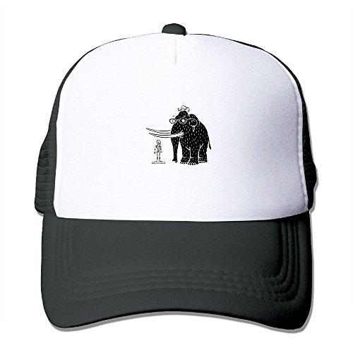 Mammoth Mesh Trucker Hat - Baseball Cap Black
